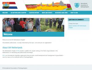 A new website for our Netherlands Chapter